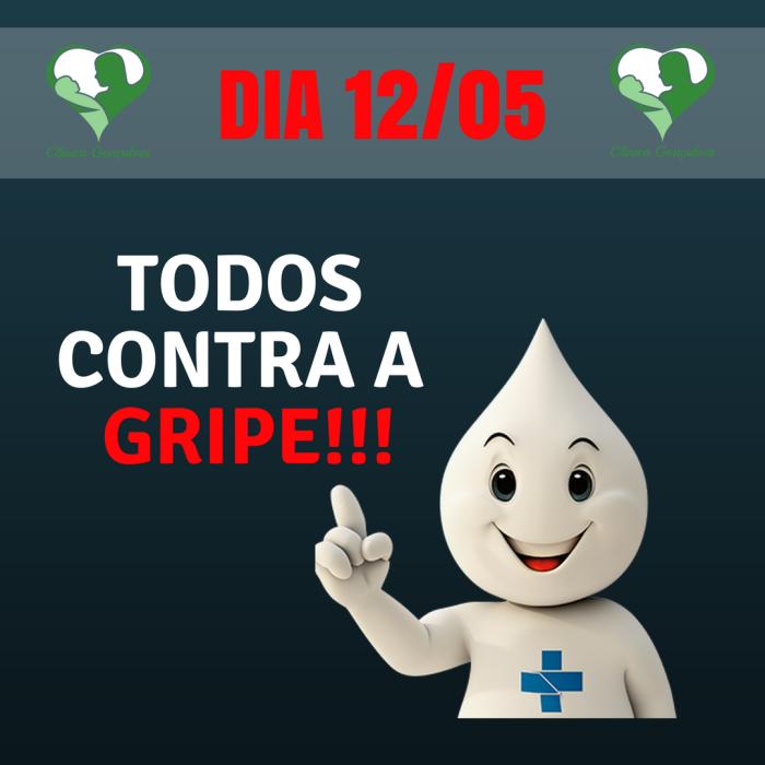 TODOS CONTRA A GRIPE!!!